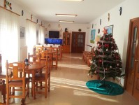 Sala de estar autónomos :: Residencia Tercera Edad El Jardí de l'Empordà - Vilamalla