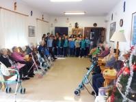 Villancicos :: Residencia Tercera Edad El Jardí de l'Empordà - Vilamalla